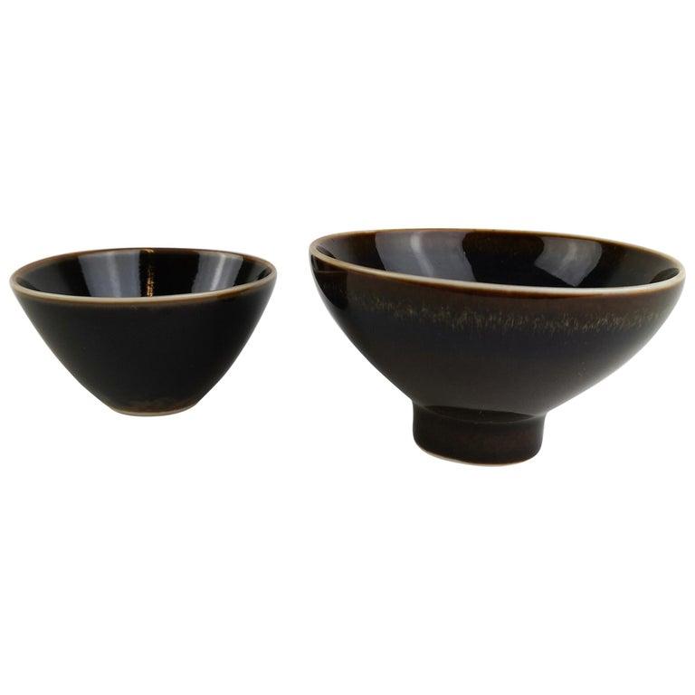 2 Bowls Rörstrand Carl Harry Stålhane, Sweden For Sale