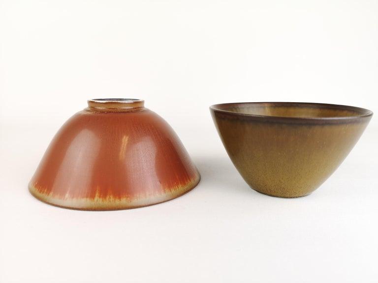 2 Bowls Rörstrand Gunnar Nylund / Stålhane, Sweden For Sale 1