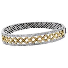 2 Carat Diamond Bangle