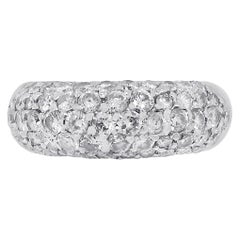 2 Carat Diamond Dome Ring