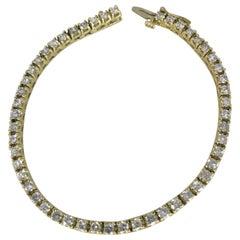 2 Carat Diamond Tennis Straight-Line Bracelet