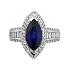 2 Carat Sapphire Ring