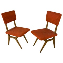 2 Chairs, Italy, circa 1950-1960