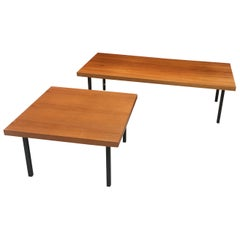 2 Coffee Tables in Knoll Style, circa 1960