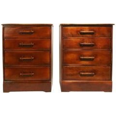 2 Cushman Bachelors Chests 1 with a Fall Front Desk