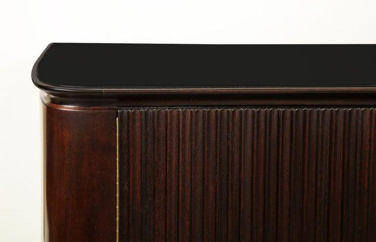 Mid-Century Modern Osvaldo Borsani & Lucio Fontana Cabinet For Sale