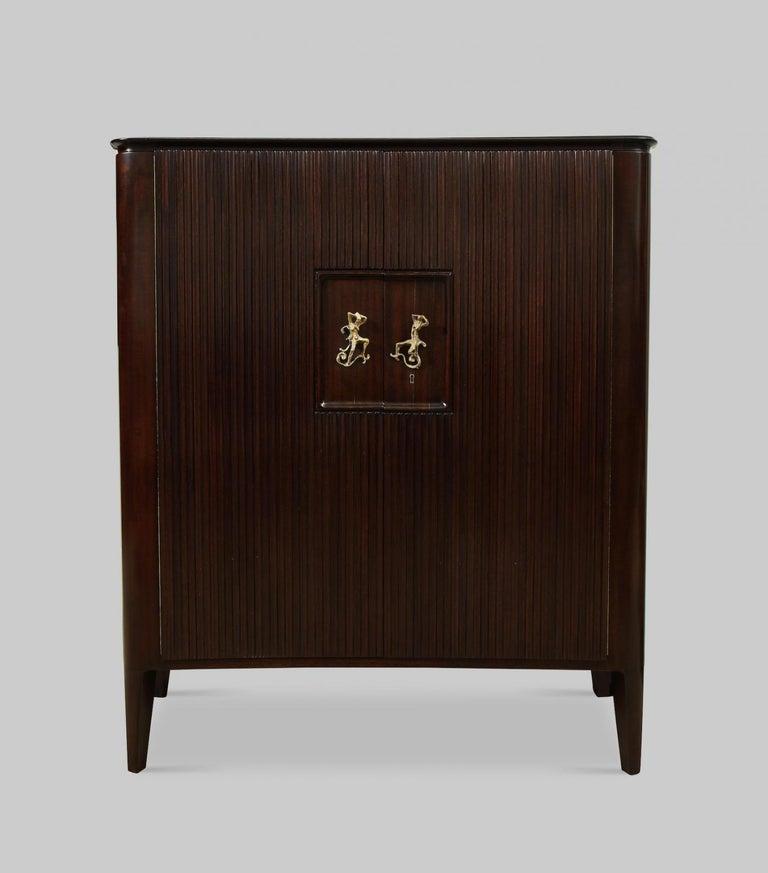 Italian Osvaldo Borsani & Lucio Fontana Cabinet For Sale