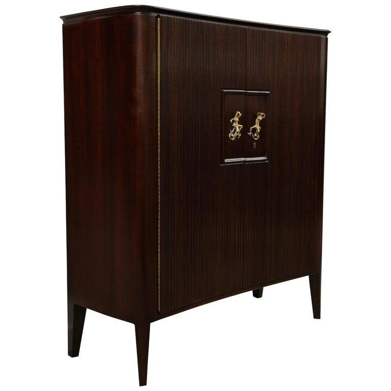 Osvaldo Borsani & Lucio Fontana Cabinet For Sale