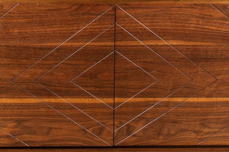 Mid-Century Modern 2-Door Platform Chest by Lawson-Fenning For Sale