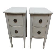 2-Drawer Gustavian Style Nightstands