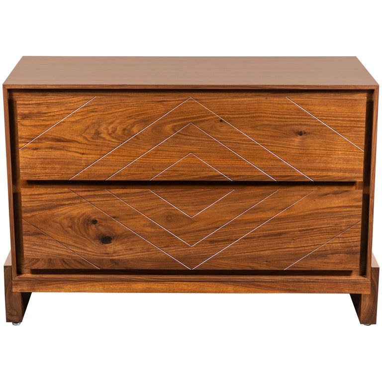 2-Drawer Platfrom Chest by Lawson-Fenning For Sale