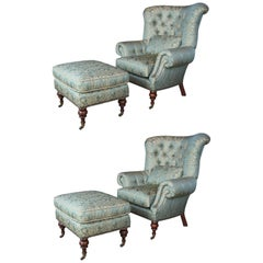 Louis XV Wingback Chairs