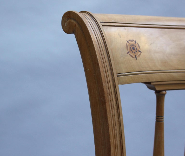 2 Fine French Art Deco Chairs by R. Damon & Bertaux For Sale 11