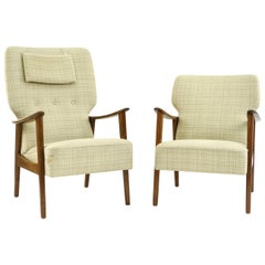 '2' Fritz Hansen Bender Madsen Easy Chairs