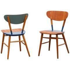2 Ingve Ekström Sidechairs Entitled Mid Summer by Markus Friedrich Staab