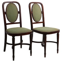 2 JJ Kohn Mundus Sude Chairs Attributed to Hoffman