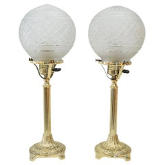 2 Jugendstil Table Lamps, Vienna, circa 1908s