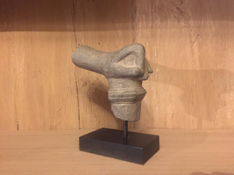 2 Khmer Stone Mudra Hands For Sale 3