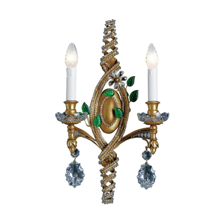 2-Light Wall Sconce For Sale