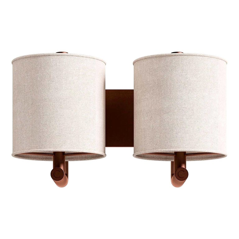 2-Light Wall Scone For Sale