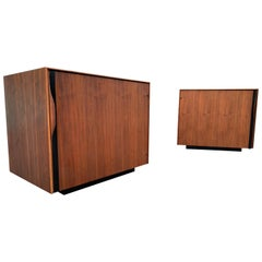 2 Midcentury Nightstands /Side Tables by Glenn of California