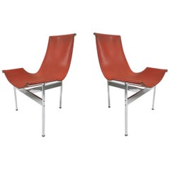 2 Original T-Chairs by Katavolos, Kelly, Littell for Laverne, 1967