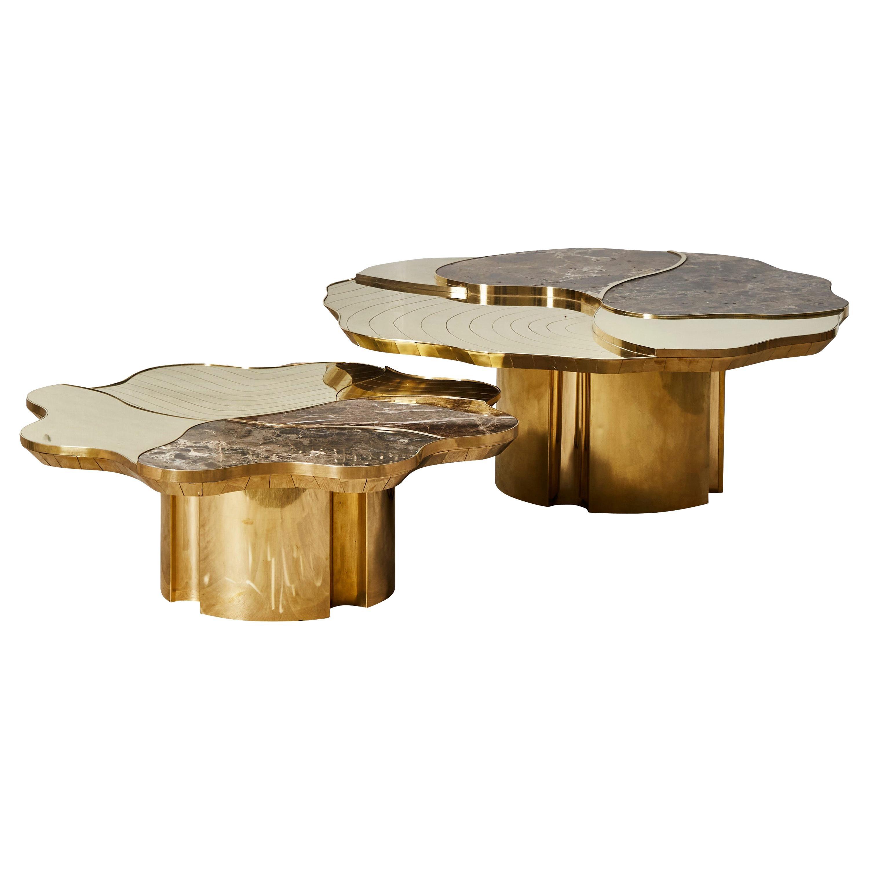 2 Parts Coffee Table by Studio Glustin