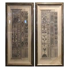 2 Piranesi Giovanni Ottaviani from the Loggia Di Raffaello the Vatican Palace