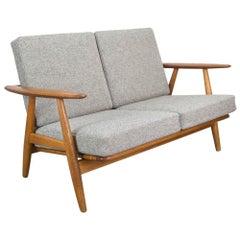 2-Seat Cigar Sofa by Hans Wegner for GETAMA, Denmark, 1960s