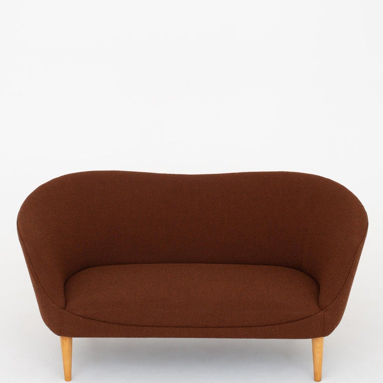 2-Seat Sofa by Unknown Architect In Good Condition For Sale In Copenhagen, DK