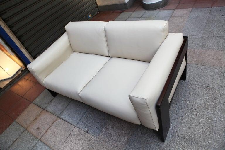 2-Seat Sofa Model Bastiano Tobia and Afra Scarp, 1975 For Sale 4