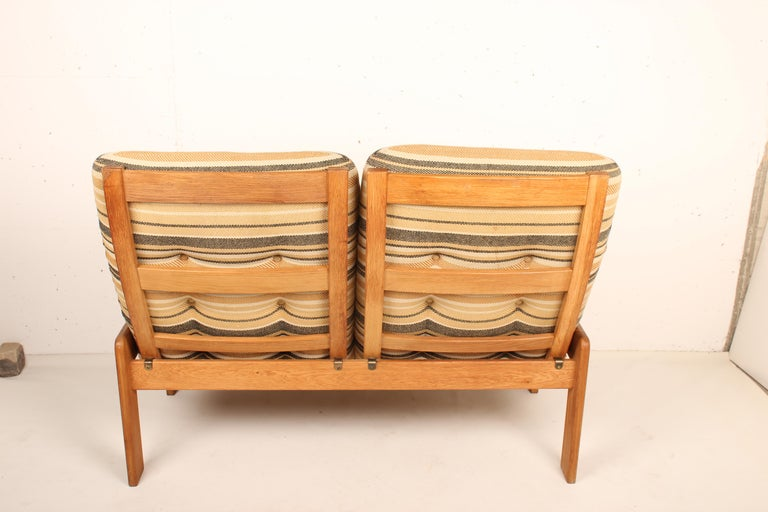 2-Seat Sofa by Yngve Ekstrom for Swedese, 1960 Sweden For Sale 4