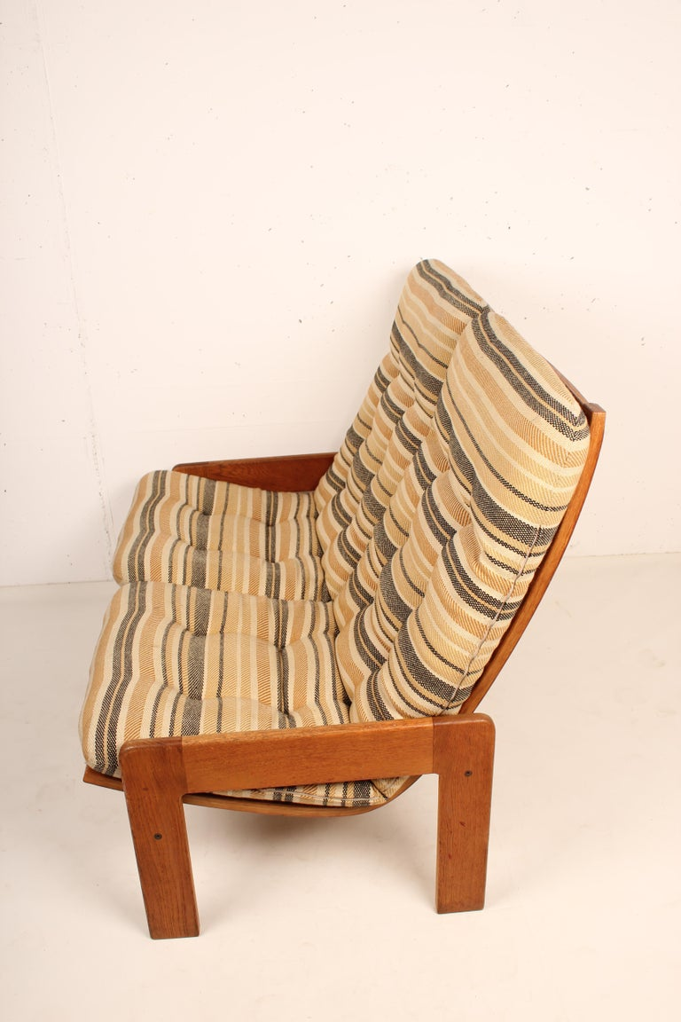 Swedish 2-Seat Sofa by Yngve Ekstrom for Swedese, 1960 Sweden For Sale