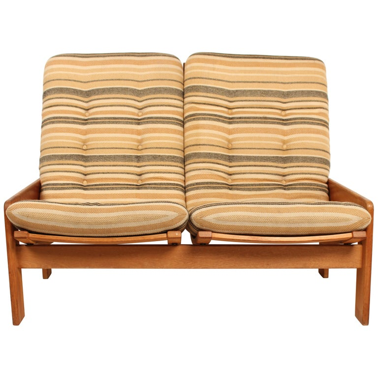 2-Seat Sofa by Yngve Ekstrom for Swedese, 1960 Sweden For Sale