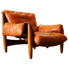 """2 """"Sheriff"""" Armchairs by Sergio Rodriguez from I.S.A. Bergamo Mid-Century Modern"""