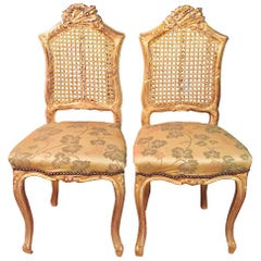 2 Small Chairs in the Louis Seize Stil, France