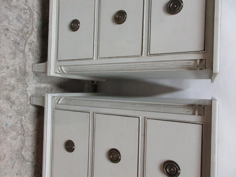 Mid-20th Century 2 Swedish Gustavian Chest of Drawers For Sale