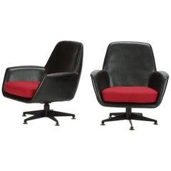2 Swiss Lounge Chairs, 1960s