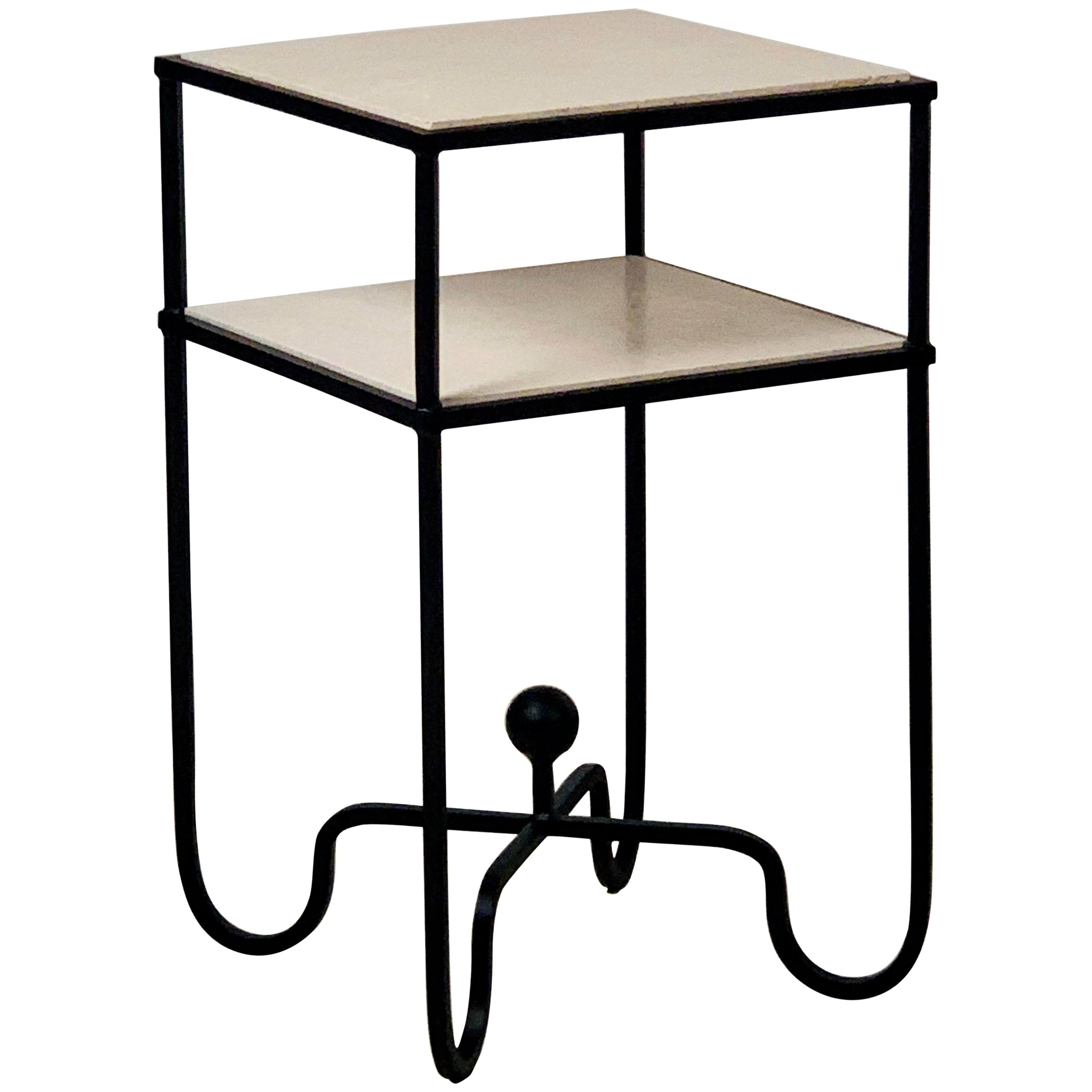 2-Tier Entretoise Side Table by Design Frères