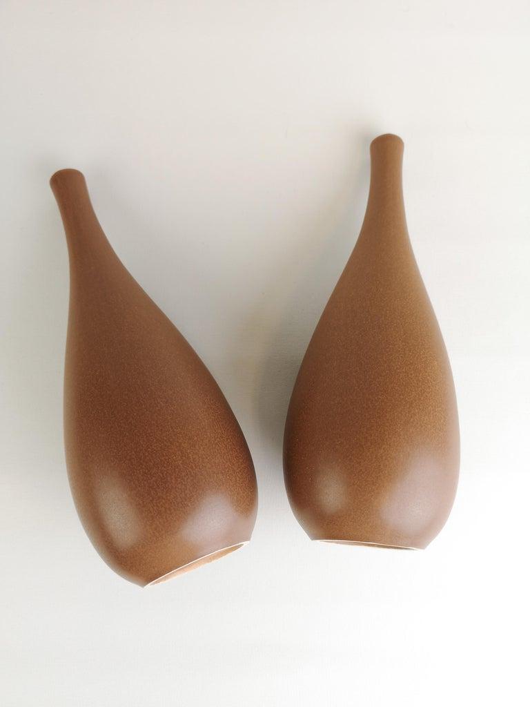 2 Vases Vitrin Gustavsberg Stig Lindberg, Sweden For Sale 3