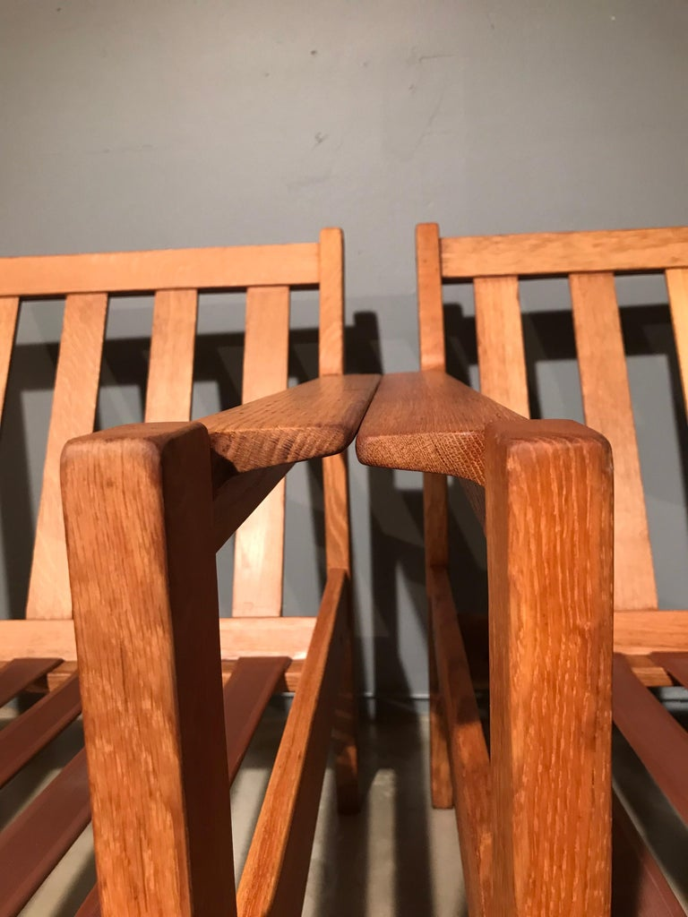 2 Vintage Easy Chairs by Erik Wørts for FDB of Denmark For Sale 2