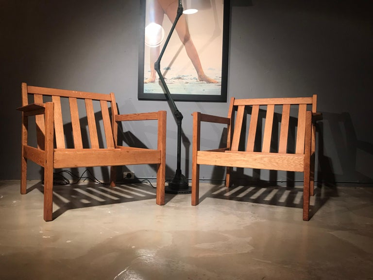 2 Vintage Easy Chairs by Erik Wørts for FDB of Denmark For Sale 5
