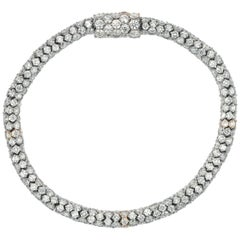 20 Carat Diamond Bracelet in Karat Gold