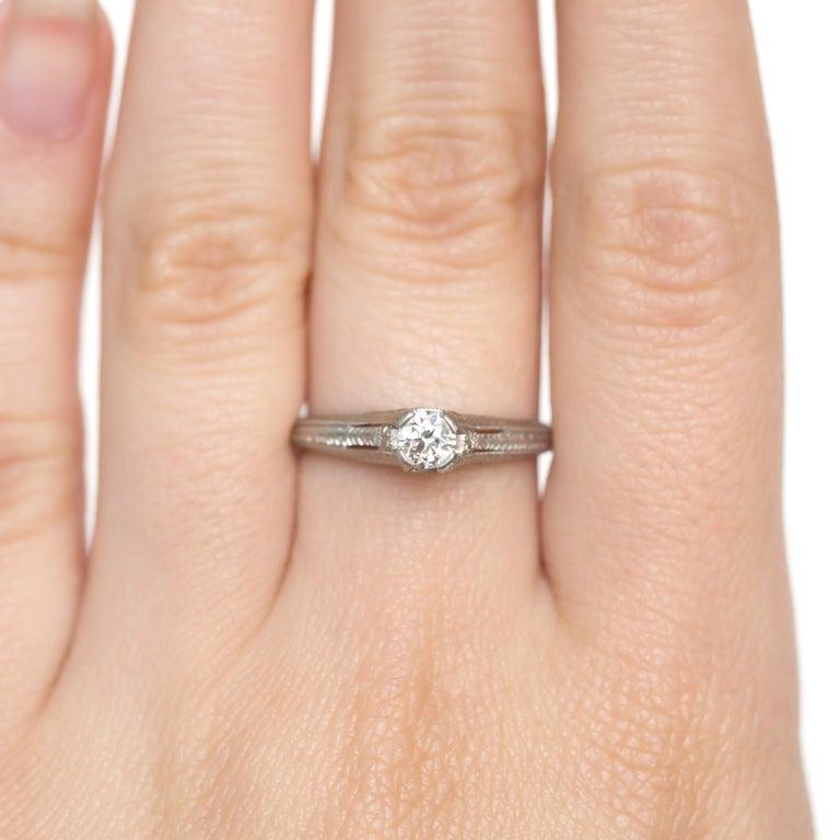 .20 Carat Diamond Engagement Ring For Sale 1