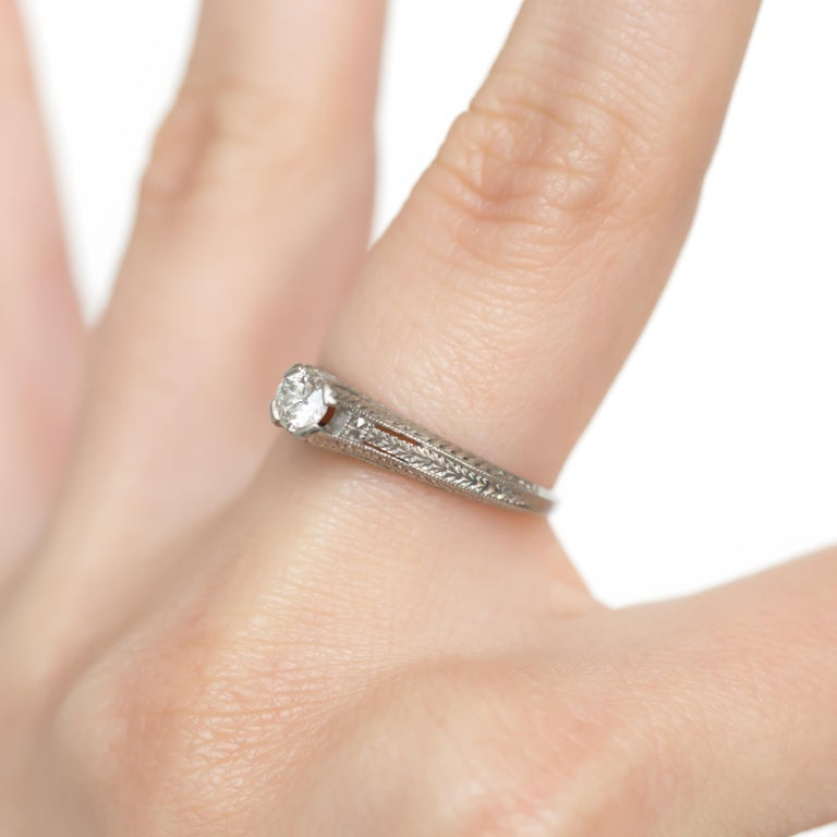 .20 Carat Diamond Engagement Ring For Sale 2