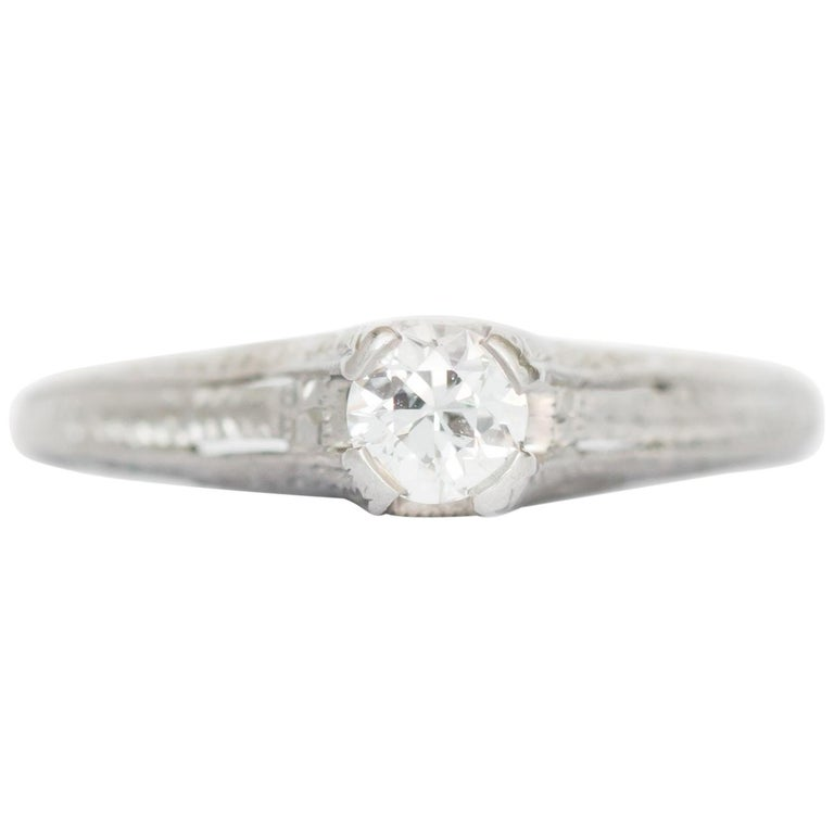 .20 Carat Diamond Engagement Ring For Sale
