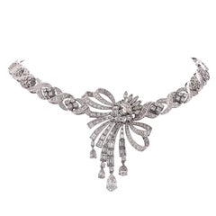 20 Carat Diamond Necklace, circa 1960s