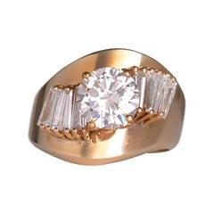 2.0 Carat VS Center Diamond Ring