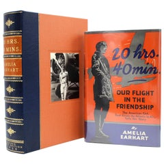 20 Hrs 40 Min, Our Flight in the Friendship, Signed by Amelia Earhart