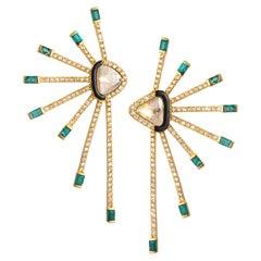20 Karat Affinity Emerald Earrings